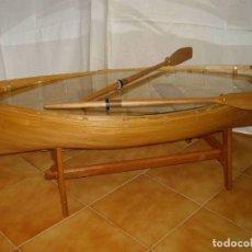 Vintage: MESITA BARCA DE PESCA. Lote 238491780