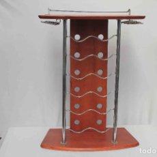 Vintage: PAR MUEBLES BOTELLERO BAR. Lote 242857960