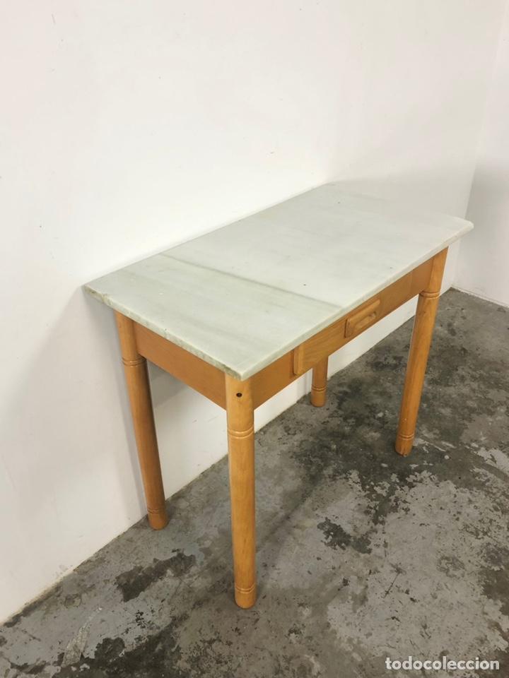 Vintage: Mesa auxiliar o escritorio vintage - Foto 6 - 243603125