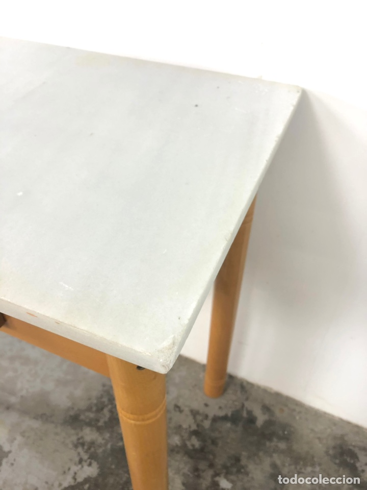 Vintage: Mesa auxiliar o escritorio vintage - Foto 8 - 243603125