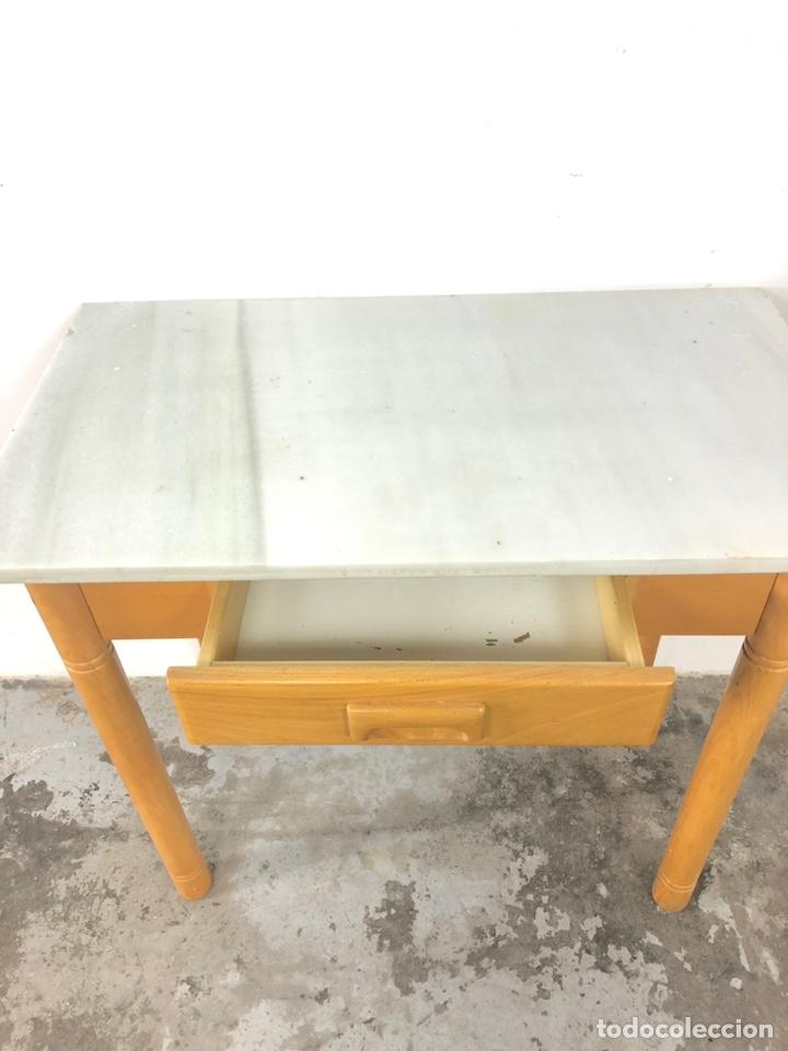 Vintage: Mesa auxiliar o escritorio vintage - Foto 9 - 243603125