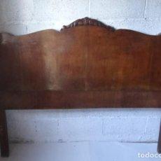 Vintage: ANTIGUA CAMA MUEBLES ROS / PARA RESTAURAR. Lote 249074055