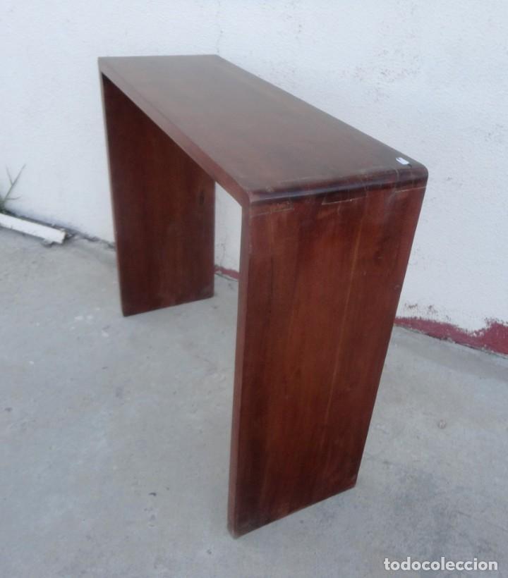 Vintage: Consola minimalista en madera de palisandro - Foto 3 - 253320935