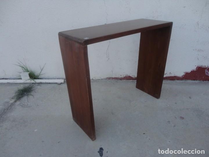 Vintage: Consola minimalista en madera de palisandro - Foto 6 - 253320935