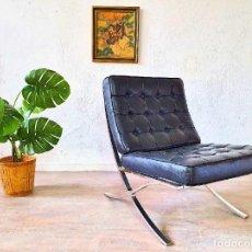 Vintage: SILLÓN BUTACA BARCELONA. Lote 254142770