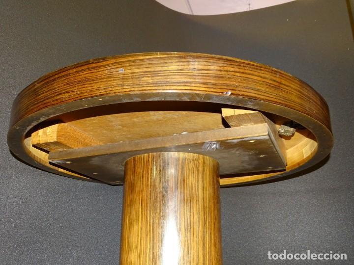 Vintage: Mesa gueridón Art Decó en madera de palosanto, Francia - Foto 13 - 254148115
