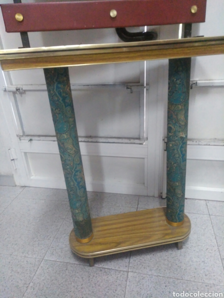Vintage: Antiguo mueble de entrada - Foto 4 - 257323200