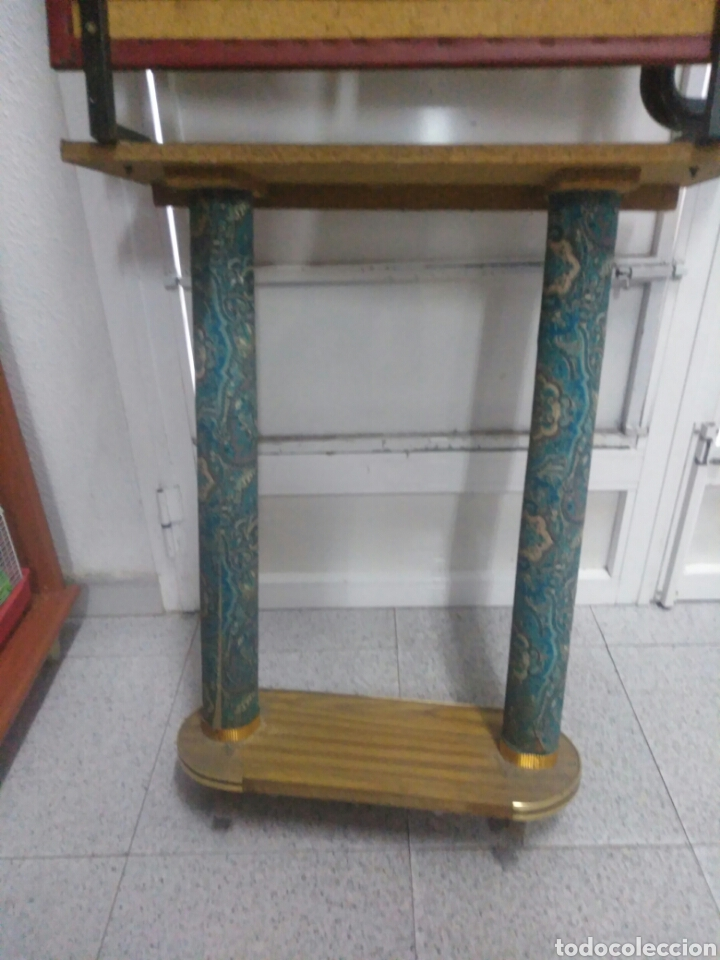 Vintage: Antiguo mueble de entrada - Foto 9 - 257323200