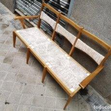 Vintage: BANCO DE CEREZO FRANCÉS. Lote 258991535