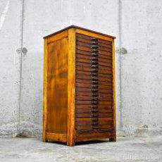 Vintage: MUEBLE CHIVALETE IMPRENTA AÑOS 20. Lote 260357405