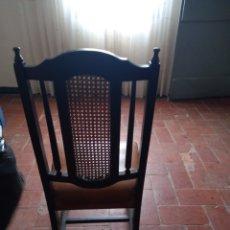 Vintage: SILLA CON REJILLA RESPALDO. Lote 261162170