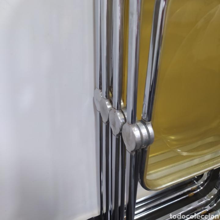 Vintage: Sillas diseño Plia originales, Anonima Castelli con marca de atribución - Foto 6 - 263177460