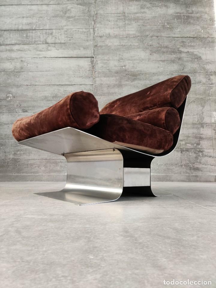 Vintage: Pareja de sillones Lounge Chairs por François Monnet para Kappa, 1970s - Foto 4 - 263642520