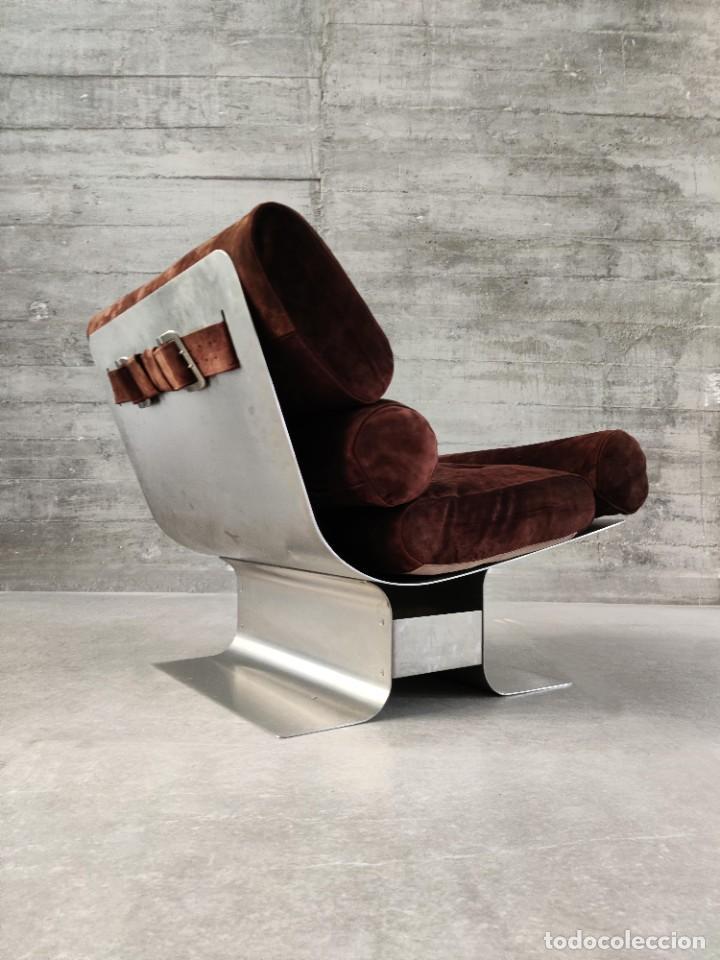 Vintage: Pareja de sillones Lounge Chairs por François Monnet para Kappa, 1970s - Foto 5 - 263642520