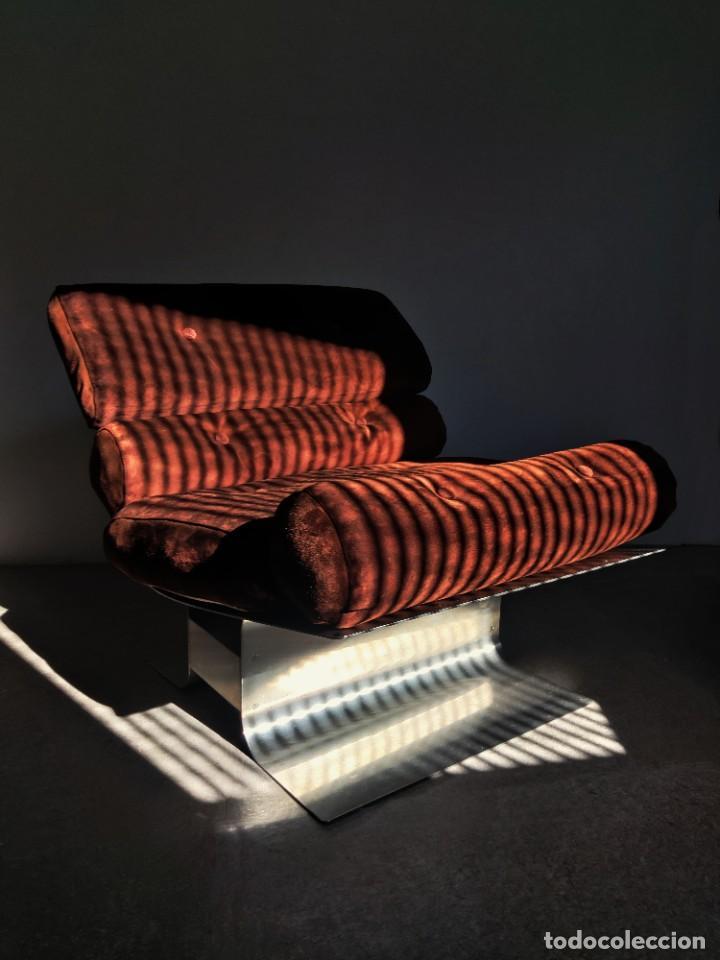 Vintage: Pareja de sillones Lounge Chairs por François Monnet para Kappa, 1970s - Foto 6 - 263642520