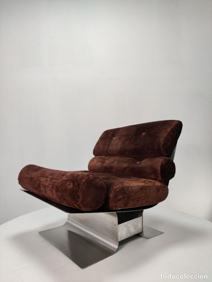 Vintage: Pareja de sillones Lounge Chairs por François Monnet para Kappa, 1970s - Foto 16 - 263642520