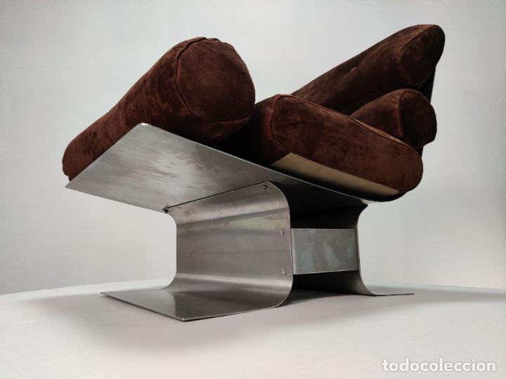 Vintage: Pareja de sillones Lounge Chairs por François Monnet para Kappa, 1970s - Foto 17 - 263642520