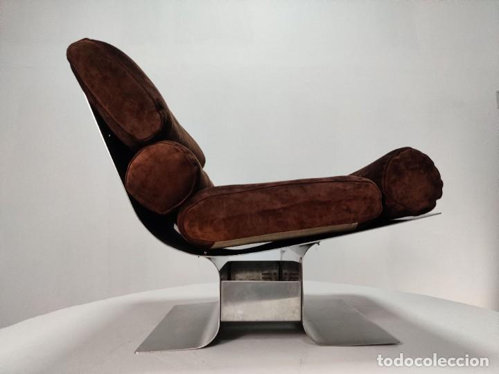 Vintage: Pareja de sillones Lounge Chairs por François Monnet para Kappa, 1970s - Foto 18 - 263642520