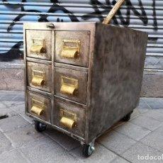 Vintage: CAJONERA INDUSTRIAL AÑOS 50. Lote 263659005