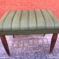Vintage: BUTACA CON REPOSABRAZOS TELA AÑOS 90. Lote 266281573