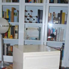 Vintage: CAJONERA KARTELL 4601 - DISEÑO SIMON FUSSELL - MESA CAJONES - MESITA - ITALIA - AÑOS 70. Lote 266598583