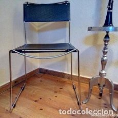 Vintage: SILLAS (2) ARCHITECTO ITALIANO GIANDOMENICO BELOTTI. Lote 269693868