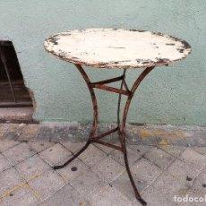 Vintage: VELADOR DE HIERRO FRANCÉS. Lote 276791028