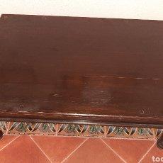 Vintage: MESA DE MADERA. Lote 277642993