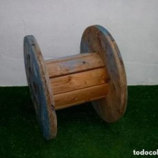 Vintage: CARRETE BOBINA DE MADERA IDEAL MESA.63 X 45 CM.. Lote 277655863