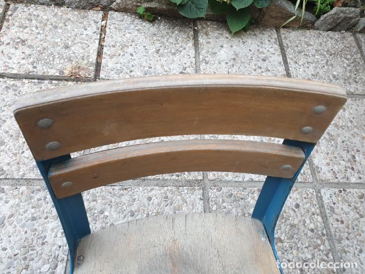 Vintage: Antigua silla con pupitre con cajonera. - Foto 8 - 278544023