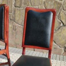 Vintage: 2 SILLAS DE DISEÑO ITALIANO. Lote 287114313