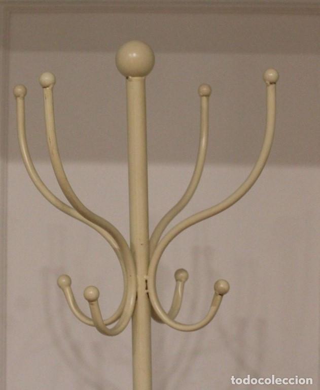 Vintage: Perchero vintage de cuatro brazos,acero. - Foto 2 - 287314643