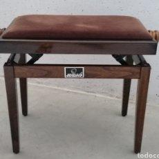 Vintage: TABURETE DE PIANO ELEVABLE JINBAO. Lote 287490233
