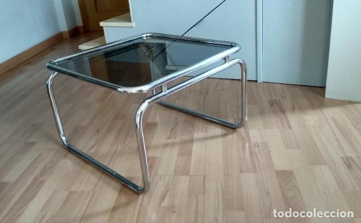 MESA DE ACERO TUBULAR (Vintage - Muebles)