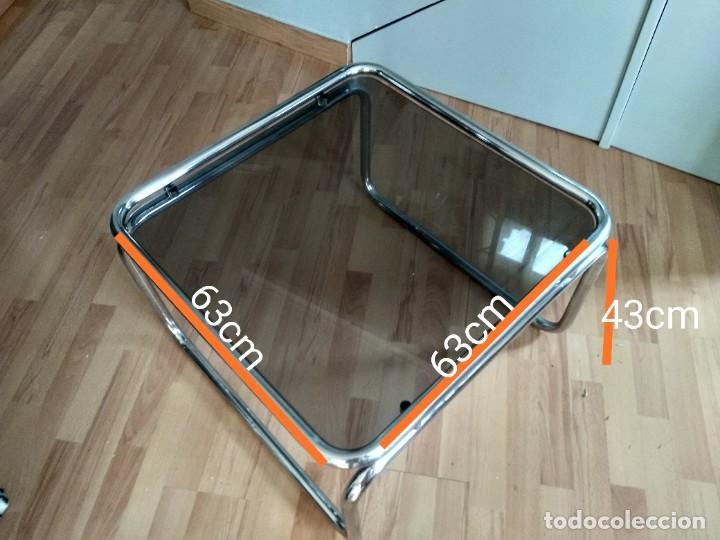 Vintage: Mesa de acero tubular - Foto 2 - 287492583