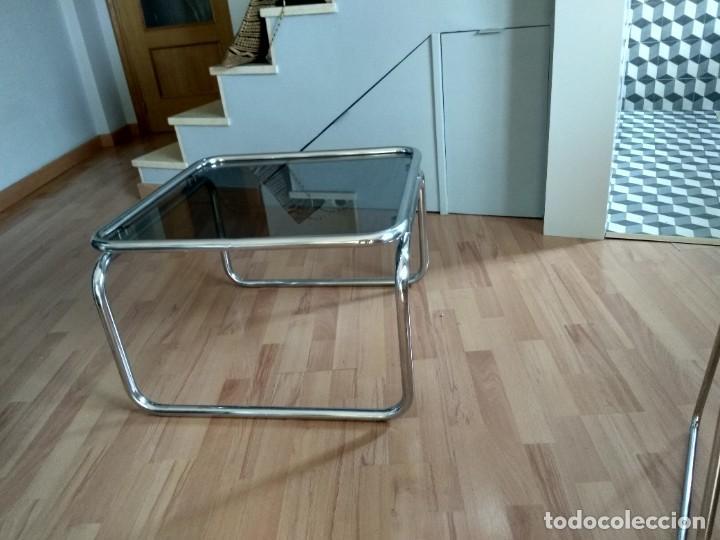 Vintage: Mesa de acero tubular - Foto 4 - 287492583