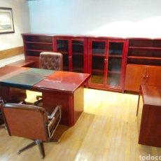 Vintage: DESPACHO CLASICO, 2 MESAS ESCRITORIO Y 1 MESA DE REUNIONES.. Lote 287591843