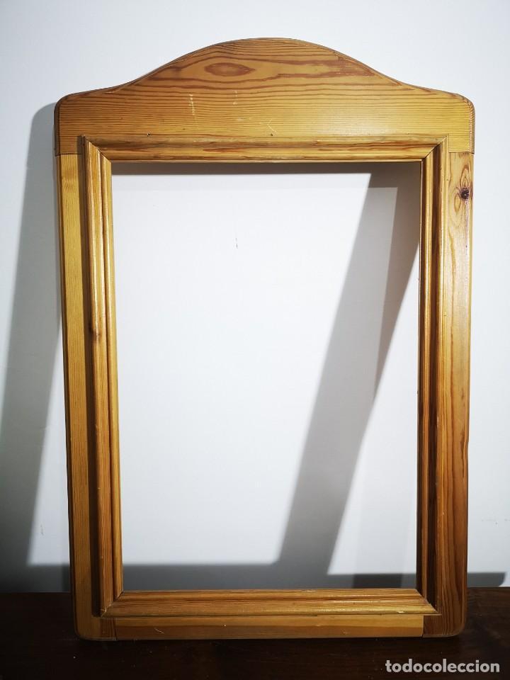 MARCO PARA ESPEJO EN MADERA SIN BARNIZAR (Vintage - Muebles)