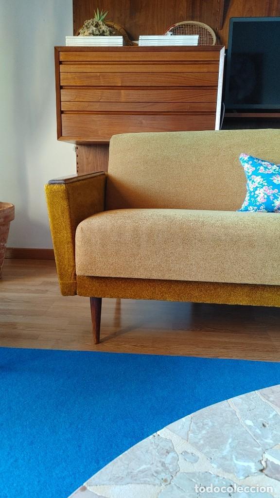 Vintage: Sofa cama nordico de los 60 - Foto 2 - 287791603