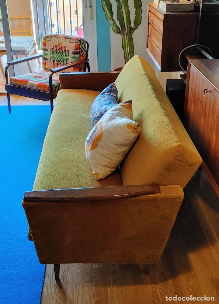 Vintage: Sofa cama nordico de los 60 - Foto 3 - 287791603