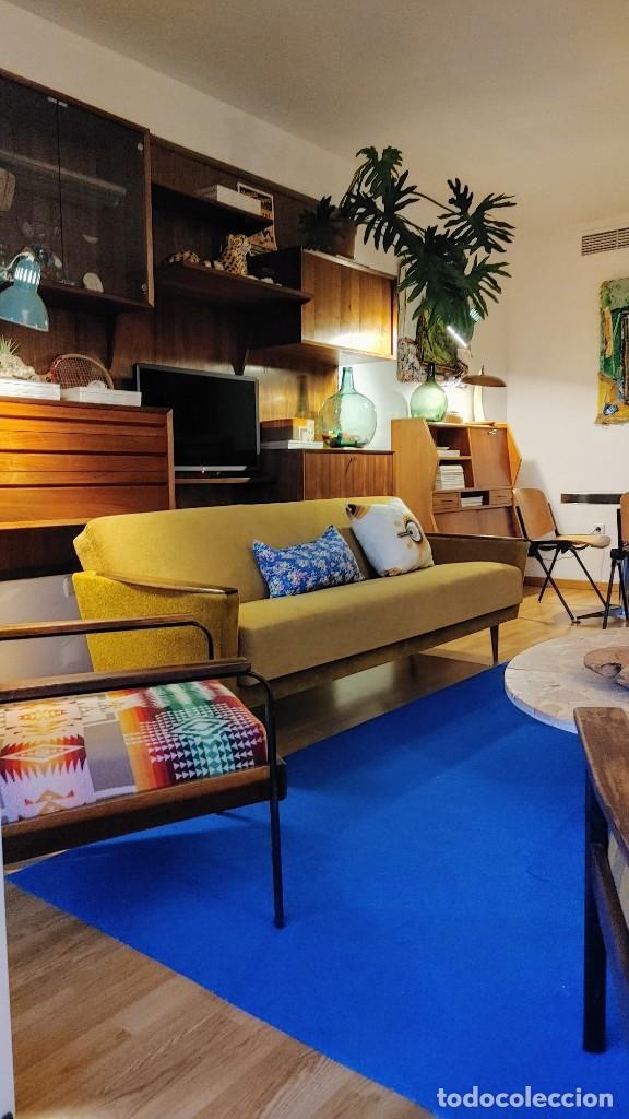 Vintage: Sofa cama nordico de los 60 - Foto 4 - 287791603