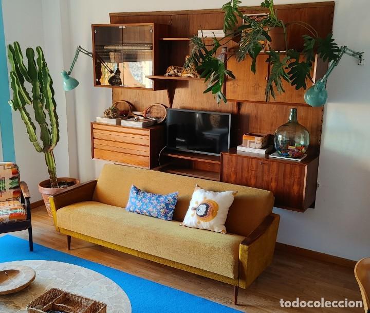 Vintage: Sofa cama nordico de los 60 - Foto 5 - 287791603