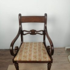 Vintage: SILLA VINTAGE ESTILO ISABELINA. Lote 289210238