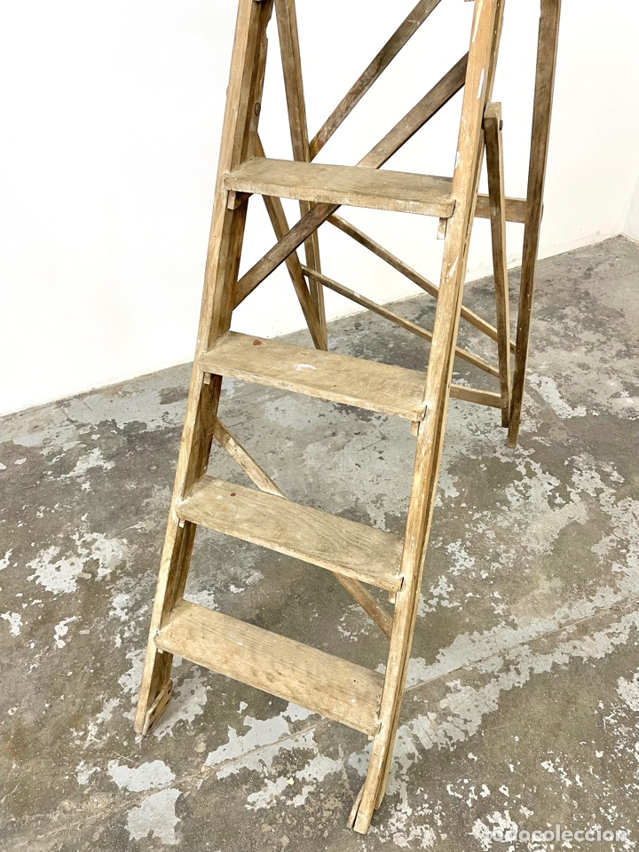 Vintage: Escalera antigua - Foto 3 - 293671468