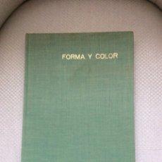 Vintage: FORMA Y COLOR EN EL ARREGLO DE LA VIVIENDA MODERNA. GIULIO PELUZZI.. Lote 294441278