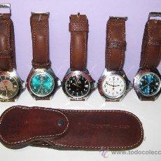 Vintage - Relojes del ejercito ruso con estuche para relojes. - 26513064