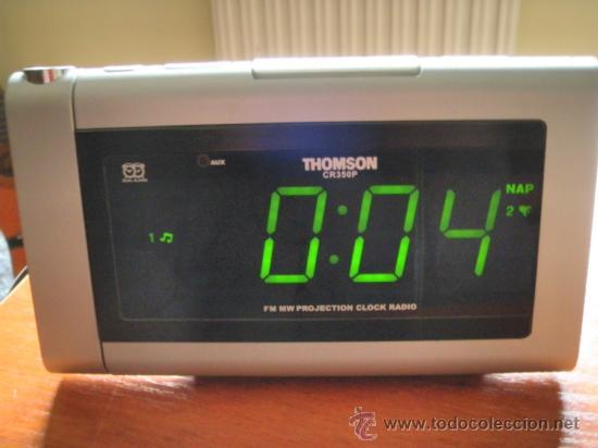 RELOJ RADIO DESPERTADOR THOMSON (Relojes - Relojes Vintage )