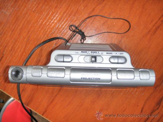 Vintage: Reloj radio despertador Thomson - Foto 5 - 36679245