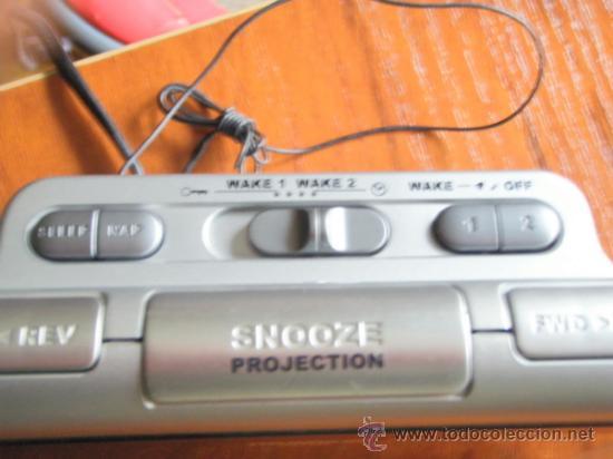 Vintage: Reloj radio despertador Thomson - Foto 4 - 36679245