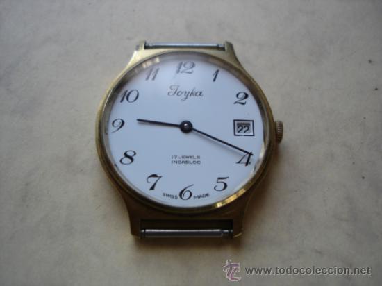 JOYKA - 17 JEWELS INCABLOC - SWISS MADE (Relojes - Relojes Vintage )